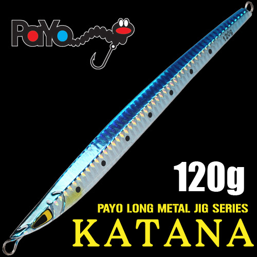 KATANA Long Metal Jig 120g