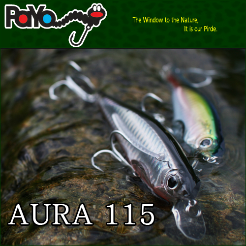 AURA 115 115mm , 22g, Floating