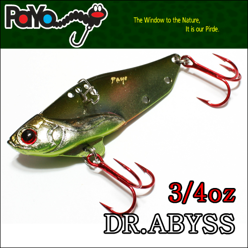 Dr.ABYSS 3/4oz 58mm, 21g, Sinking