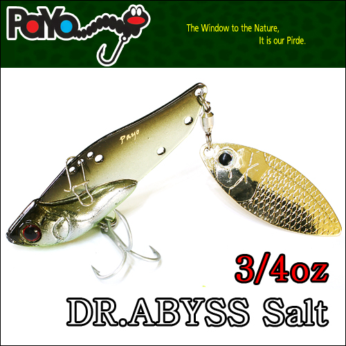 Dr.ABYSS Salt 3/4oz 58mm, 21g, Sinking